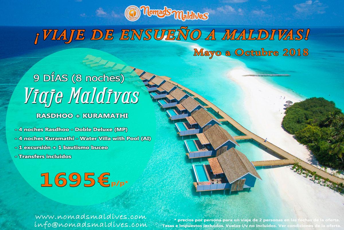 Oferta de viaje a Maldivas – Viaje de ensueño a Maldivas