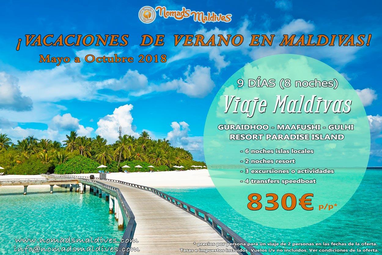 Oferta de viaje a Maldivas – Vacaciones en Maldivas