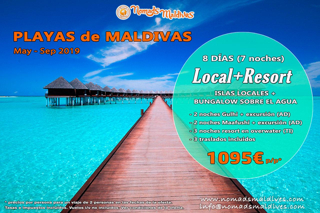 Playas de Maldivas - Oferta de viaje 2019