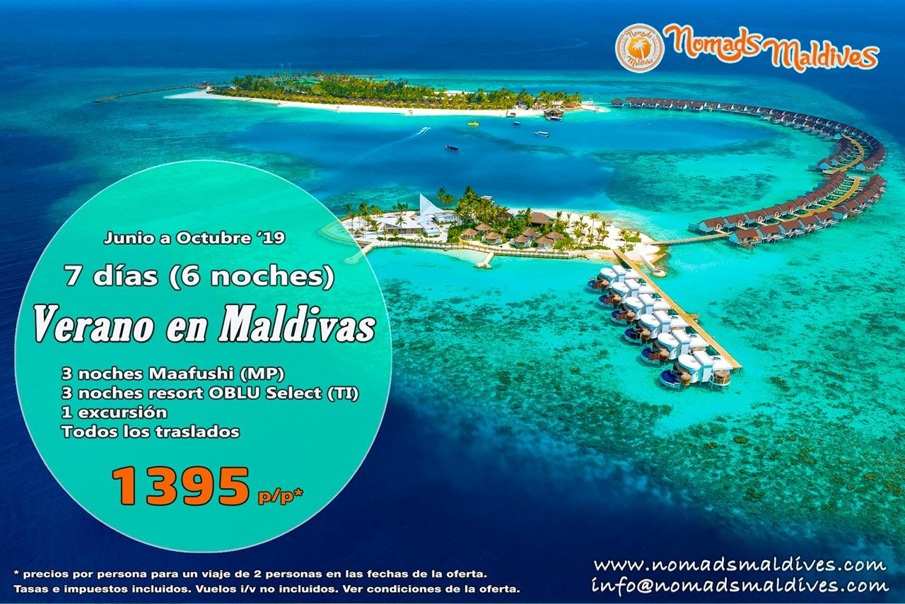 MALDIVAS: OFERTA DE ULTIMA HORA – ¡¡No dejes pasar esta oportunidad!!