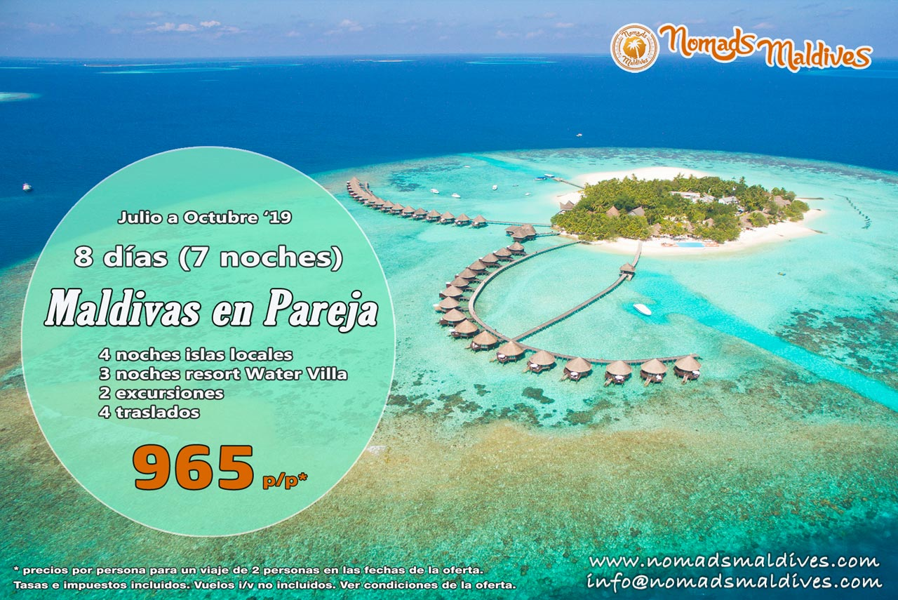OFERTA: MALDIVAS EN PAREJA – El destino perfecto