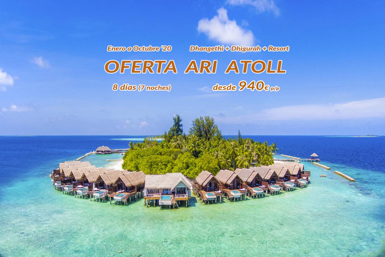 Este 2020 descubre Maldivas en un viaje irrepetible por el atolón Ari