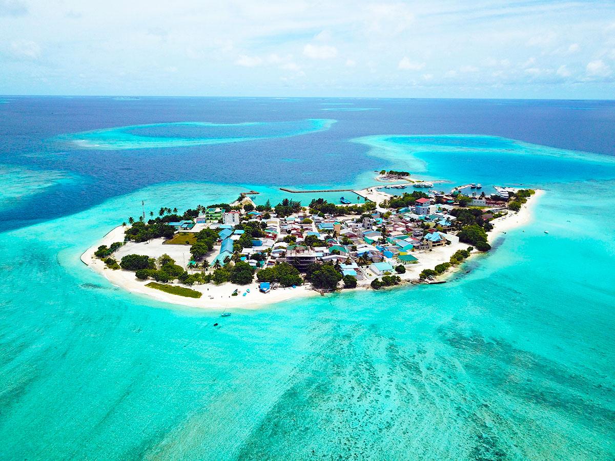 La tranquila y paradisíaca Gulhi tiene una playa incomparable