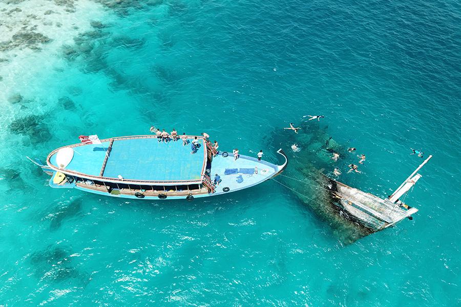 Excursión Real Break en Maafushi
