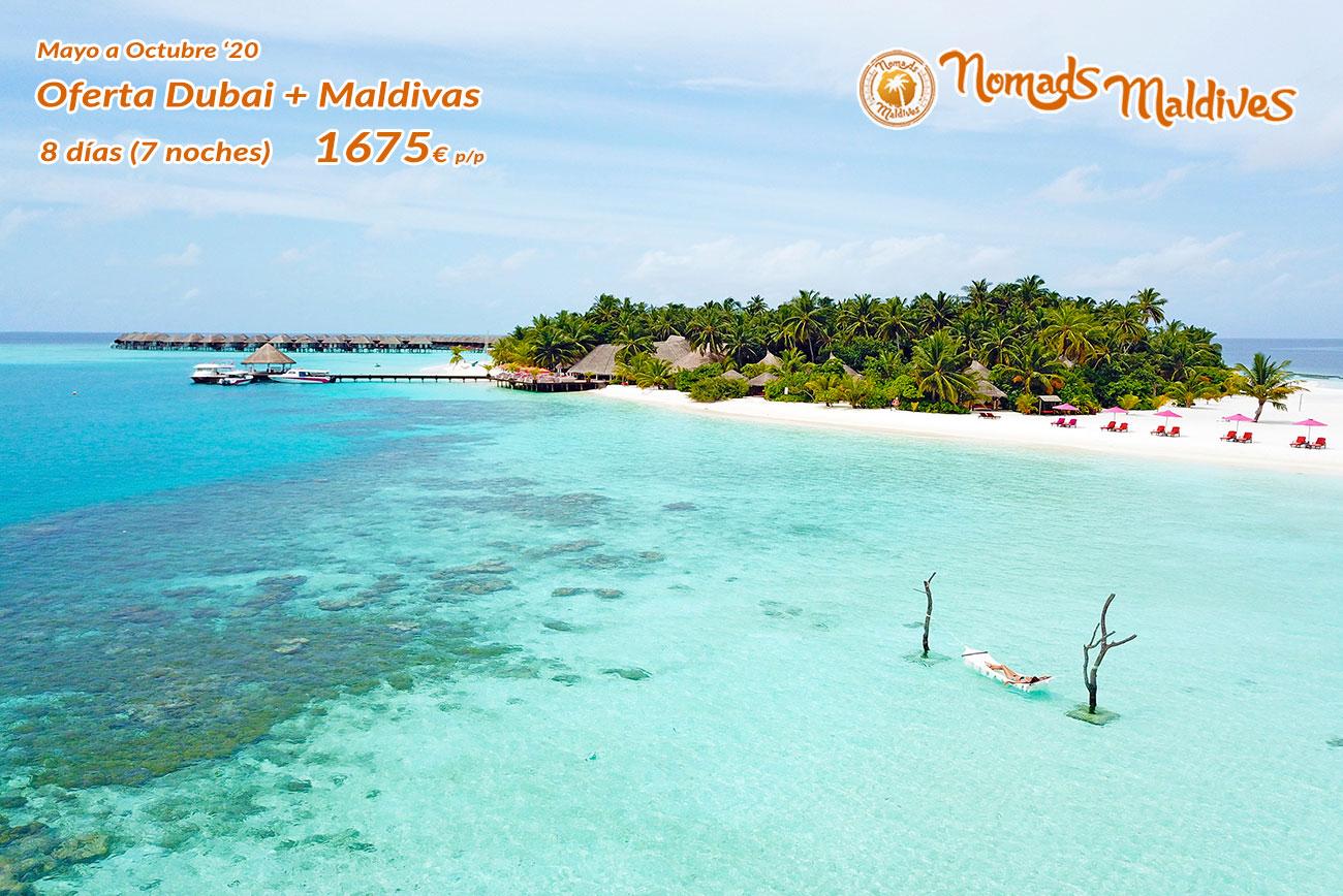 OFERTA: Verano a todo lujo | Dubai y Maldivas 2020