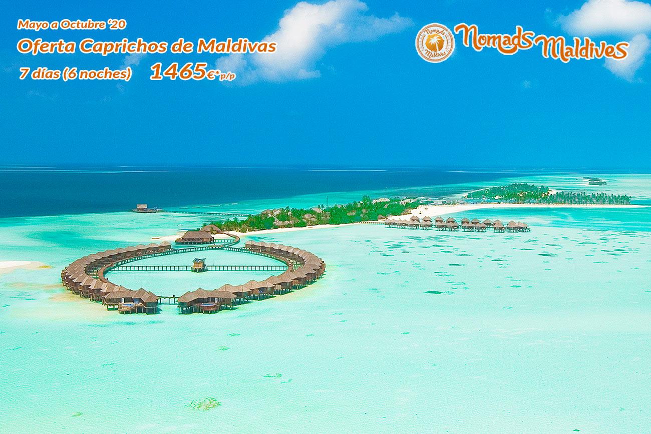 OFERTA: Caprichos de Maldivas | Con Facilidades de Cancelación