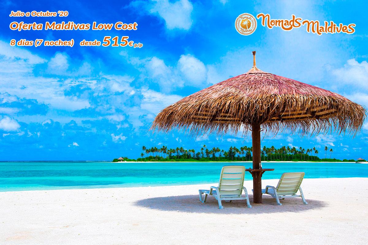 OFERTA MALDIVAS LOW COST