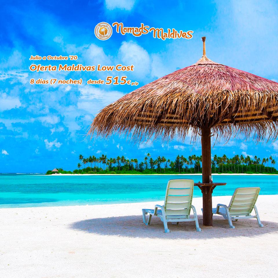 Descubre Maldivas al mejor precio
