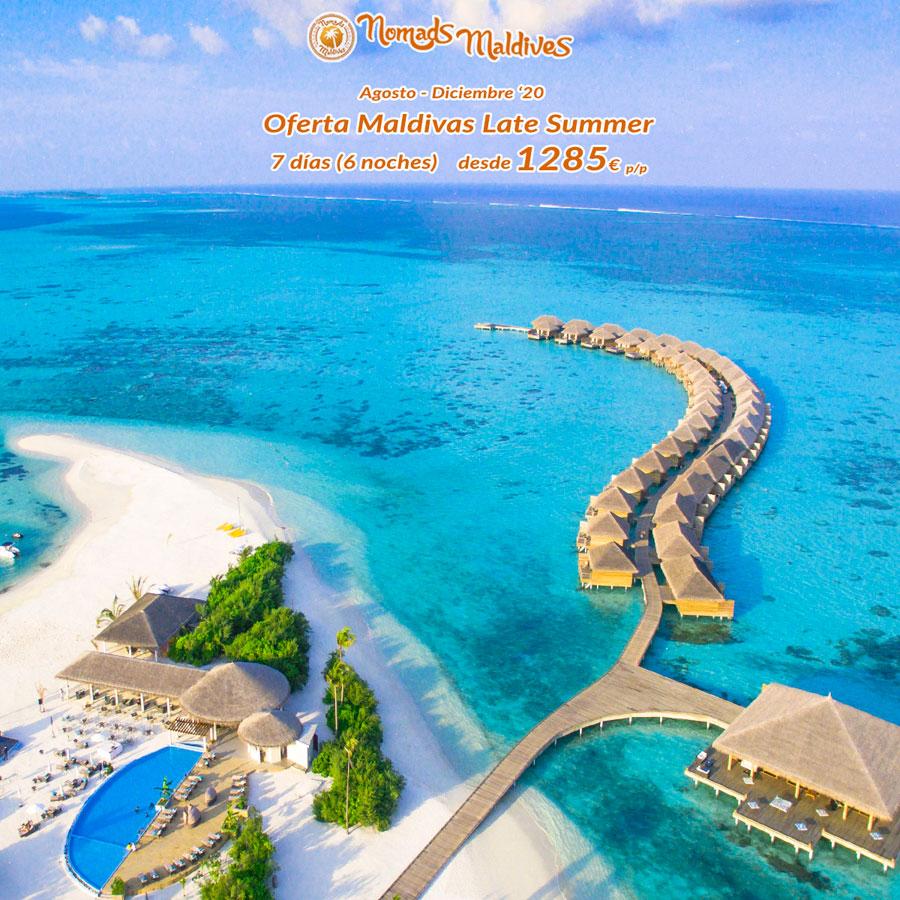 OFERTA: Maldivas Late Summer | No te quedes sin viajar este año
