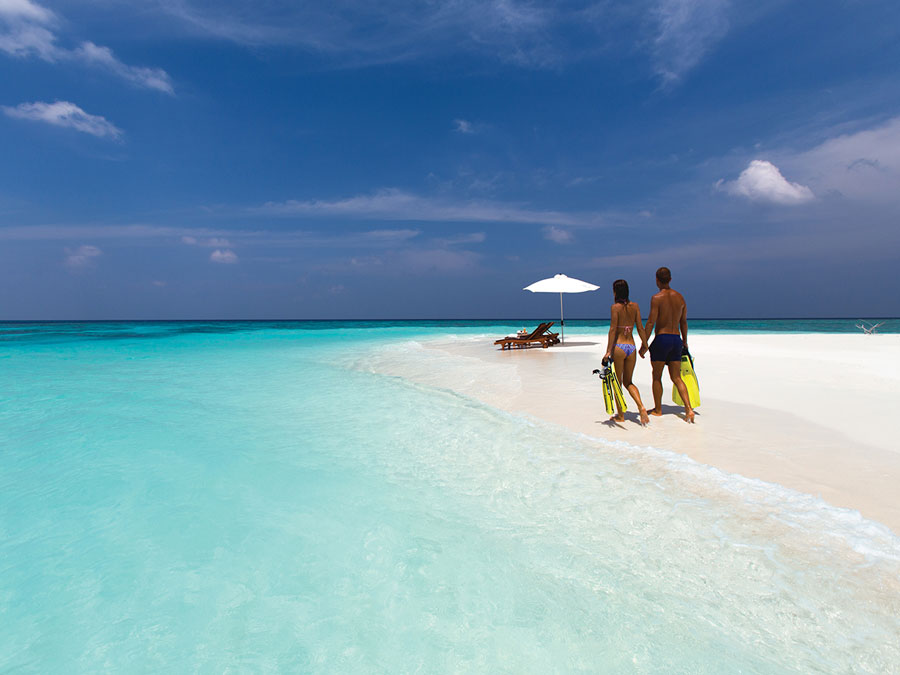 Sandbank - Kanifushi Maldives