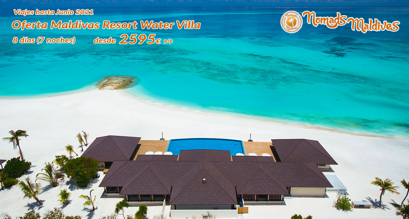 OFERTA Maldivas | Resort Atmosphere Kanifushi en Water Villa