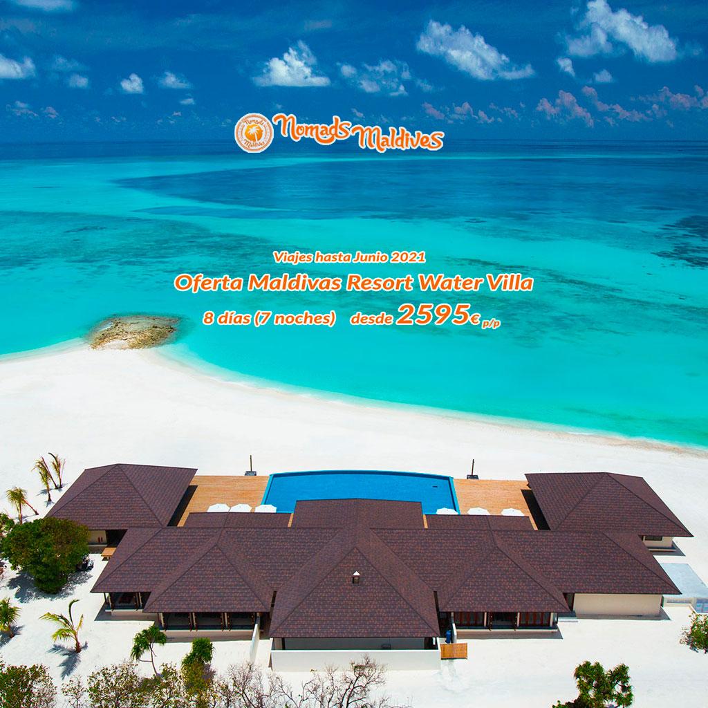 OFERTA Maldivas | Resort Atmosphere Kanifushi en Water Villa
