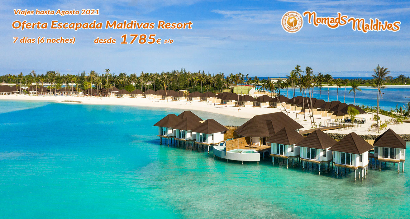 OFERTA Maldivas | Escapada al Resort Olhuveli Beach & Spa