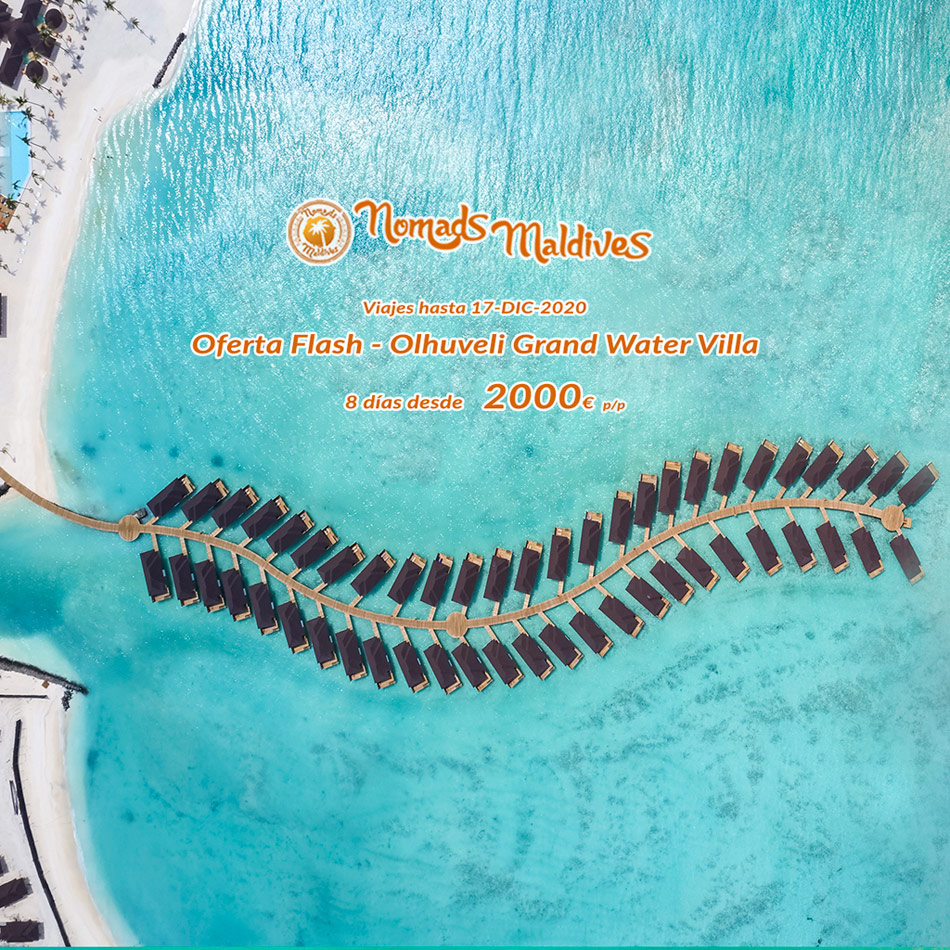 OFERTA Flash Maldivas | Resort Olhuveli Beach & Spa