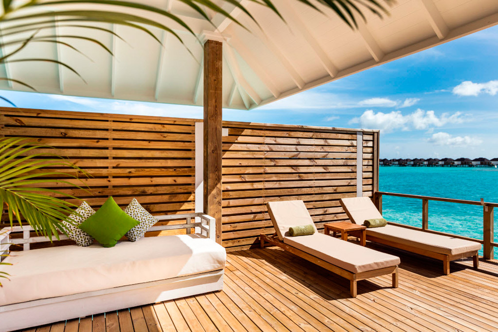Terraza Grand Water Villa, Olhuveli - Maldivas