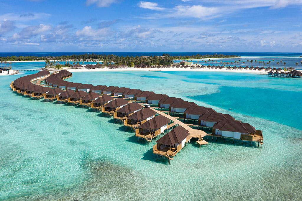 Grand Water Villas en Olhuveli Beach & Spa - Maldivas