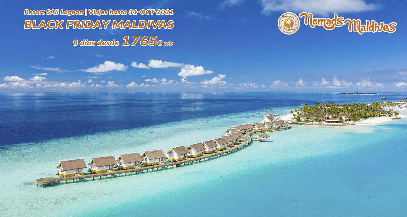 OFERTA Black Friday Maldivas | Resort SAii Lagoon