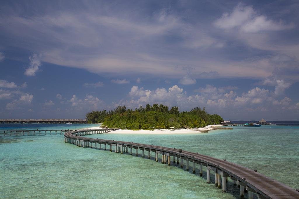 La isla privada de Coco Bodu