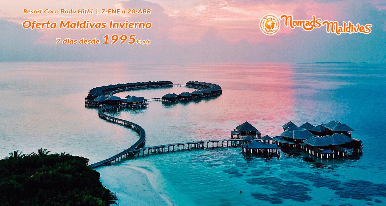 Oferta Invierno en Maldivas | Resort Coco Bodu