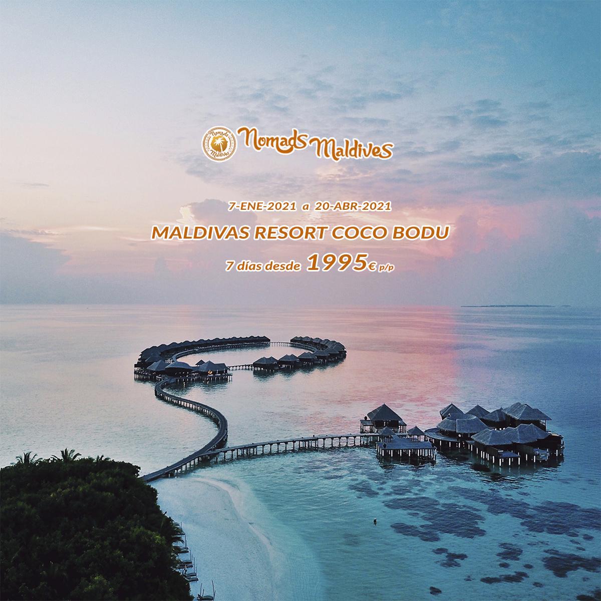 Oferta Maldivas Invierno | Resort Coco Bodu