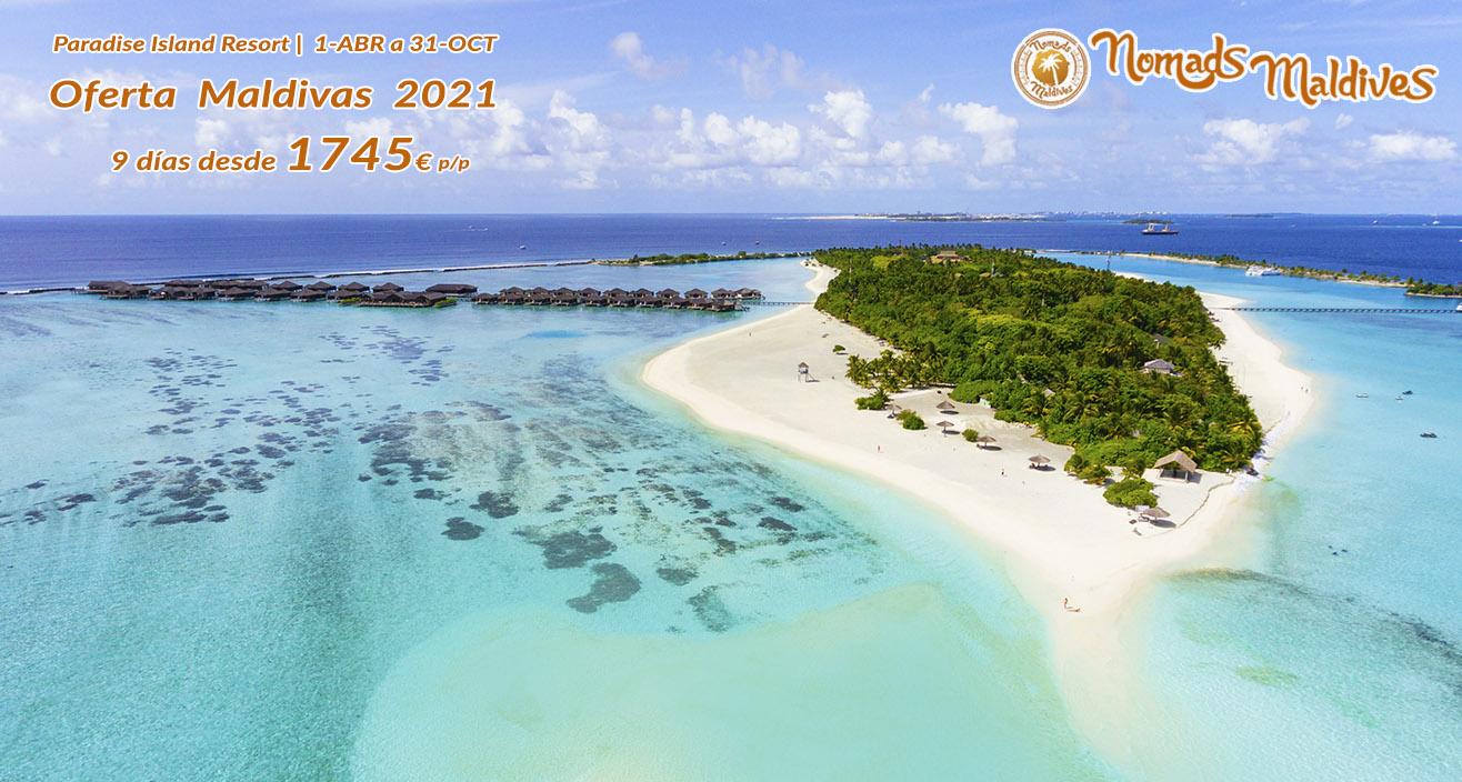 Oferta Maldivas 2021 | Paradise Island Resort
