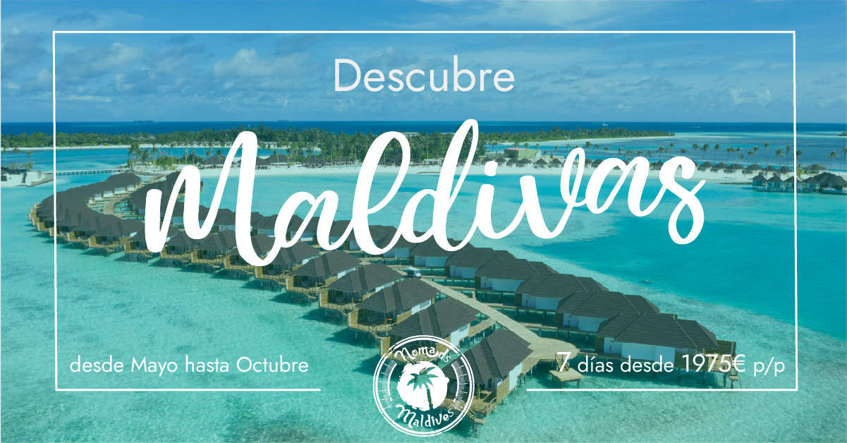 OFERTA: Relax en Maldivas