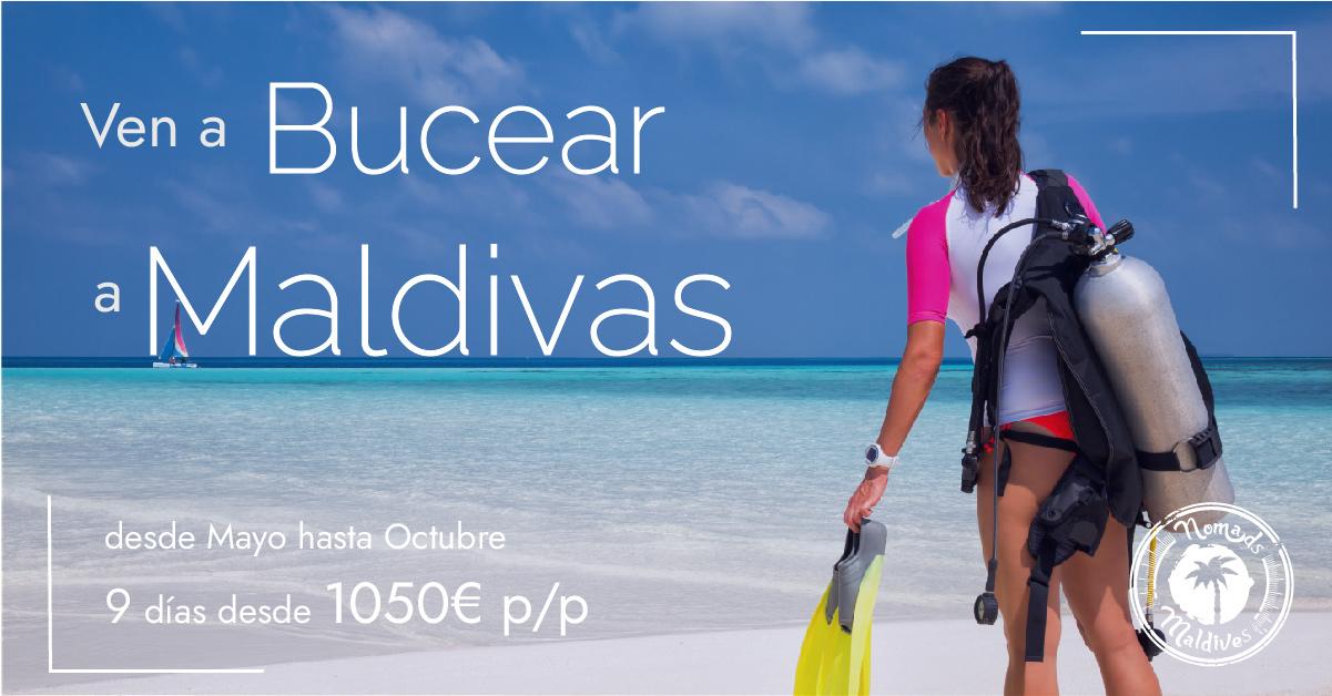 OFERTA: Buceo en Maldivas