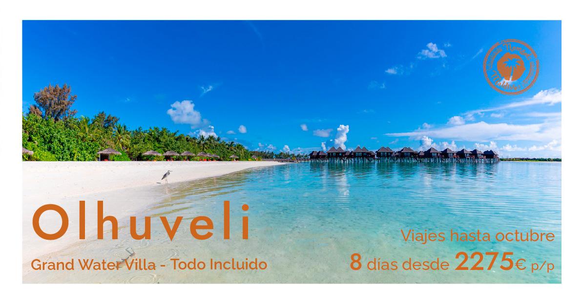 OFERTA Flash Maldivas | Resort Olhuveli en Grand Water Villa