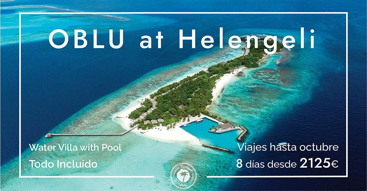 OFERTA Maldivas | Resort OBLU Helengeli en Water Villa with Pool