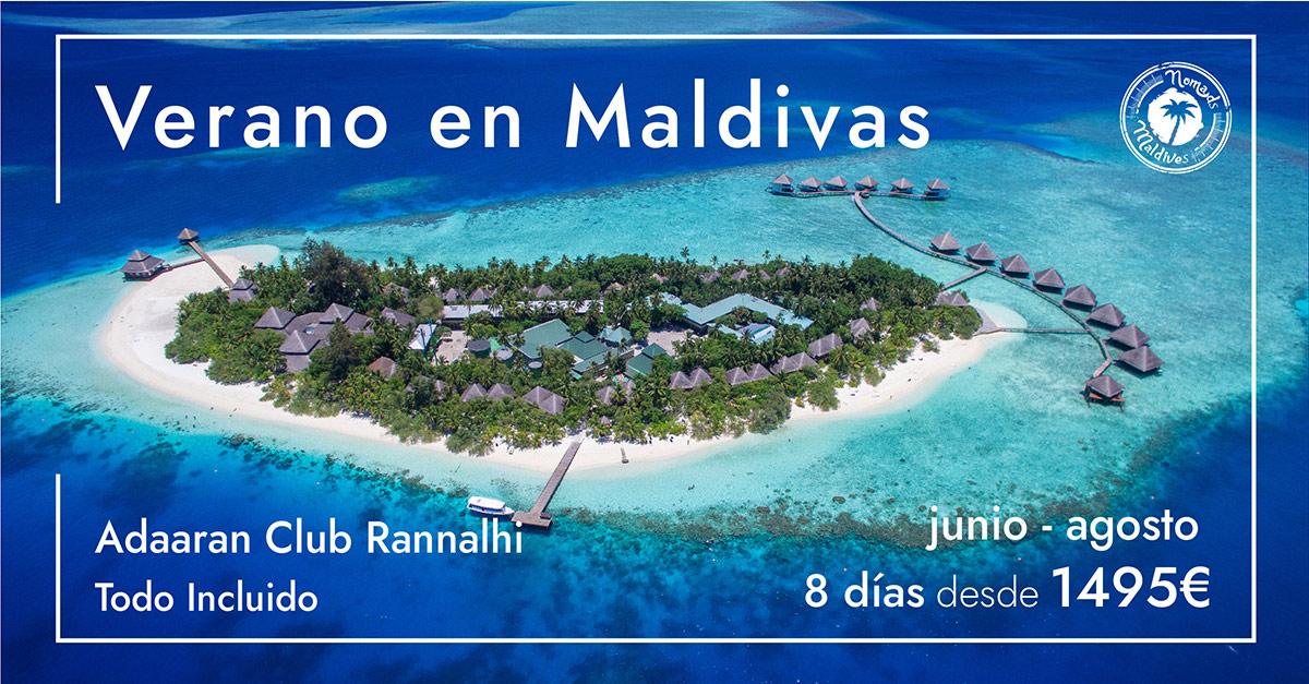 OFERTA Resort en Maldivas | Verano 2021