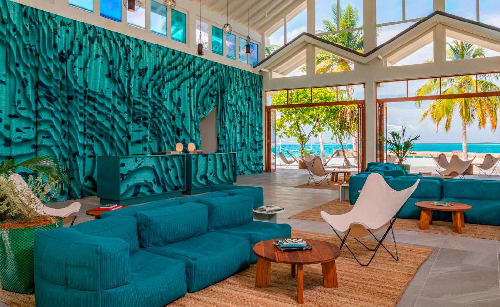 The Standard Huruvalhi, resort de diseño