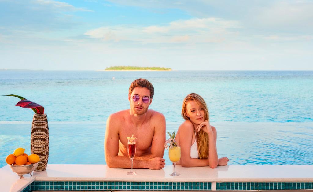 Vacaciones románticas en The Standard Huruvalhi
