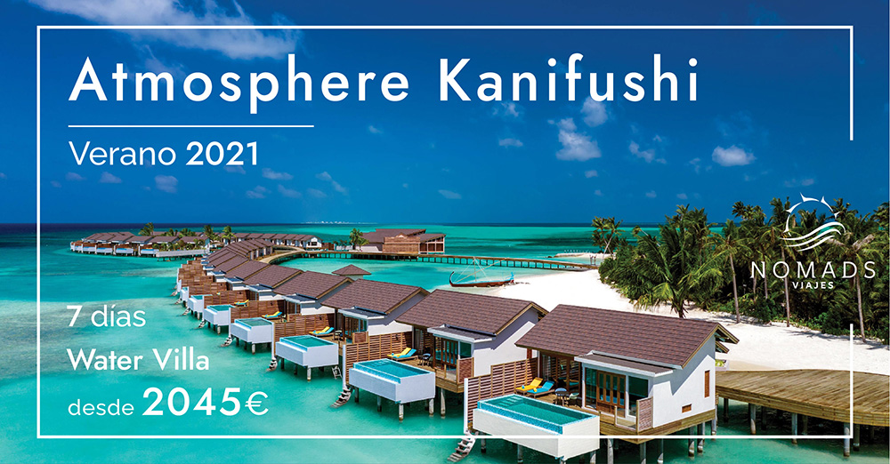 OFERTA Atmosphere Kanifushi Maldivas | Water Villa