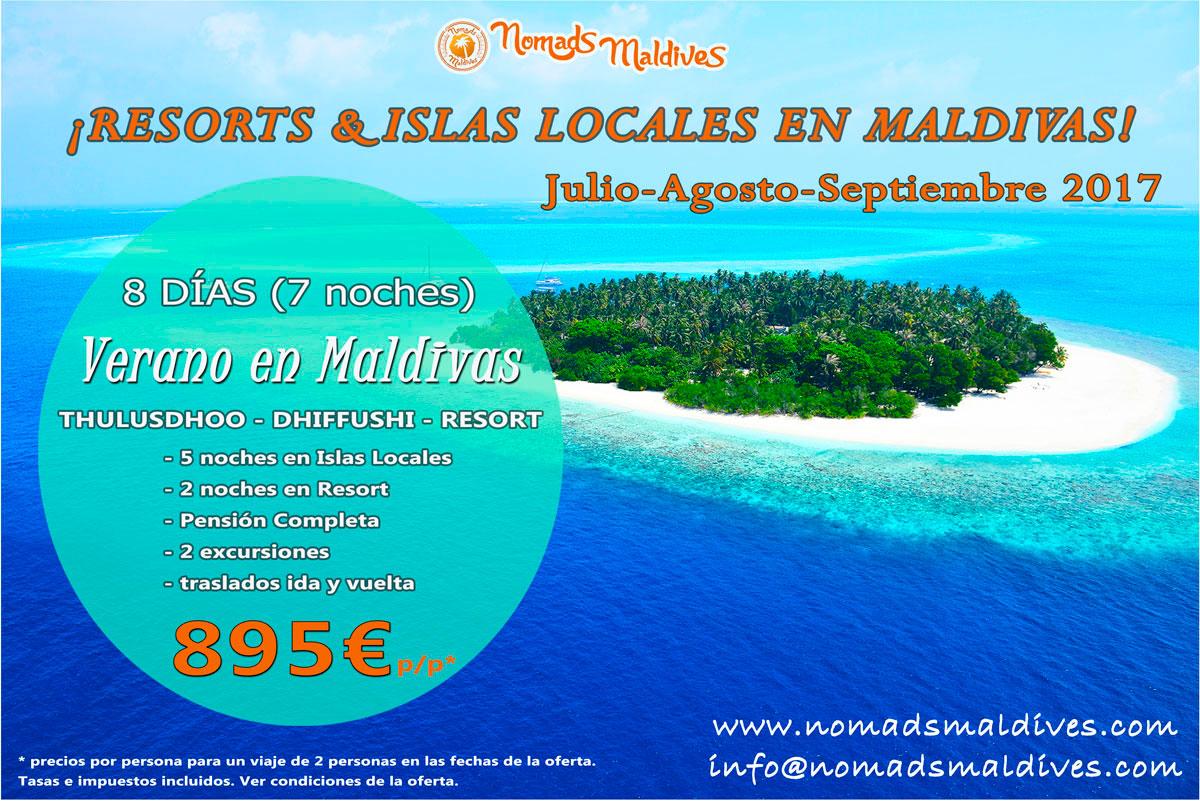 Oferta de viaje a Maldivas – Verano de ensueño en Maldivas