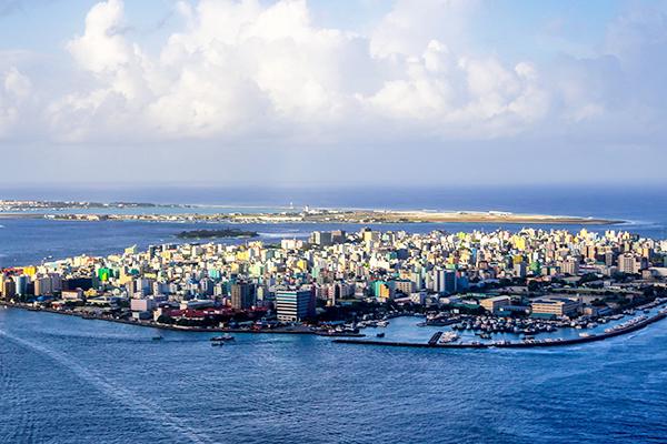 Isla de Male y su aeropuerto