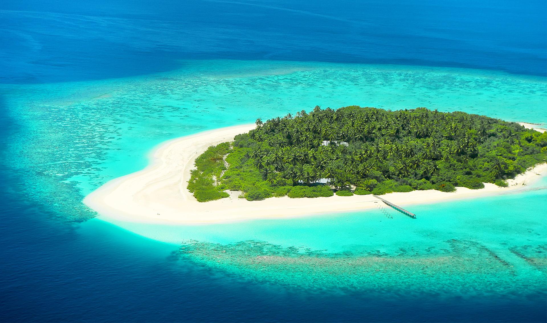 Isla desierta - Maldivas