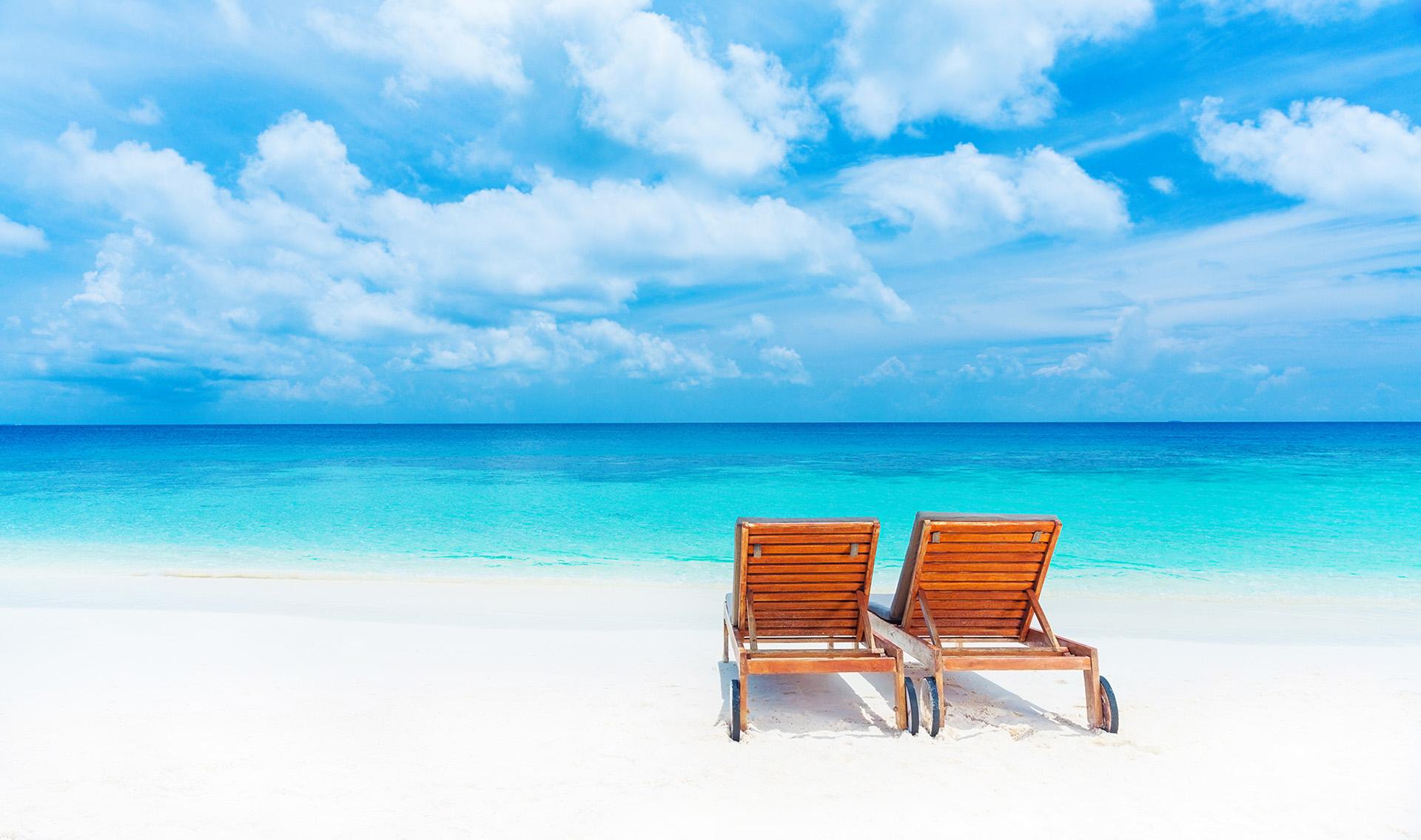 Playa paraíso - Maldivas
