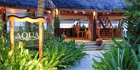 Aqua Bar del Anantara Dighu Sup
