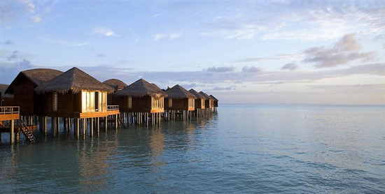 Over water villas en Anantara Dighu Sup