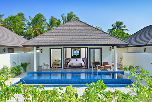 Sunset Deluxe Beach Villa with Pool de Atmosphere Kanifushi
