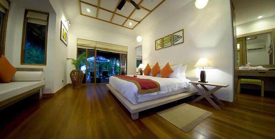Dormitorio de la Honeymoon Pool Villa
