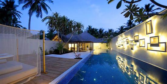 Piscina privada de la Honeymoon Pool Villa