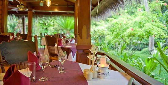 Restaurante Siam Garden del Kuramathi Superior