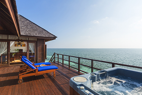 Prestige Jacuzzi Water Villa de Olhuveli Beach & Spa