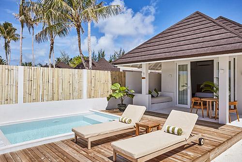 Grand Beach Villa with Pool de Olhuveli Beach & Spa