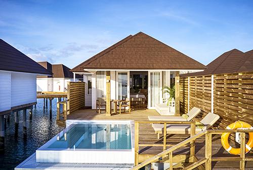 Grand Water Villa with Pool de Olhuveli Beach & Spa