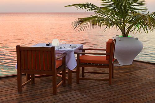 Restaurante Lagoon de Olhuveli Beach & Spa