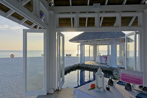 Restaurante Plankton Grill de Olhuveli Beach & Spa