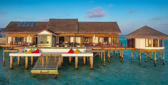 Ozen Water Suite en Ozen by Atmosphere at Maadhoo