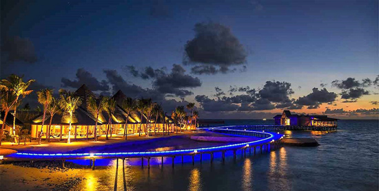 The Palms Restaurant del Ozen by Atmosphere at Maadhoo